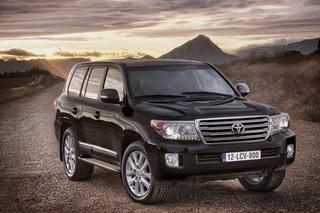 Toyota Land Cruiser V8 - Sauberer um die Kurve