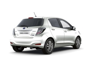 Toyota Yaris Hybrid - Öko-Look im Paket