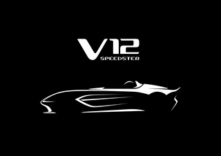 Aston Martin V12 Speedster - Radikale Rennmaschine