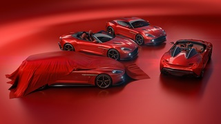 Aston Martin und Zagato  - Speedster und Shooting Brake komplettier...