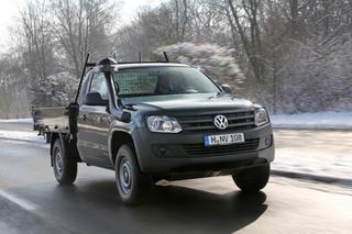 VW Amarok Dreiseiten-Kipper - Pick-up zum Schütten