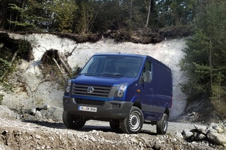 VW Crafter 4Motion - Lasttier für schweres Gelände (Vorabbericht)