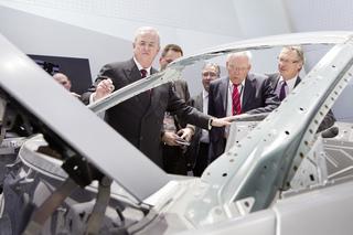Neugieriger VW-Chef - Winterkorn prüft Mercedes SL
