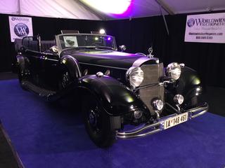 Hitler-Mercedes 770k - Kein Bieterwettstreit um Paradewagen