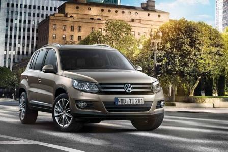 VW Tiguan - Frische im Gesicht