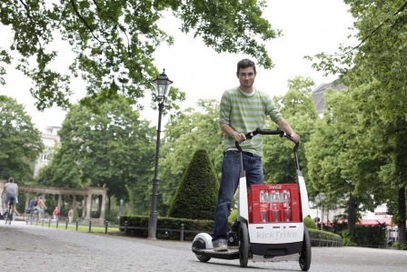 Mobil ohne Auto - Rollern, stromern, Lasten stemmen