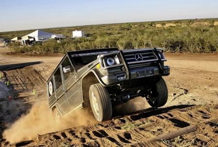 Mercedes G-Klasse - Vom Laster zum Luster