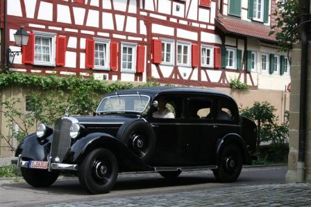 75 Jahre Mercedes 260 D - Nagelprobe